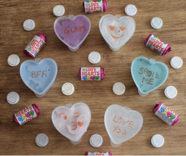 Love Hearts Valentine's Day Slime
