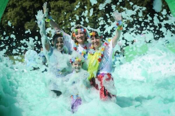 Acorn Bubble Rush at Cofton Park