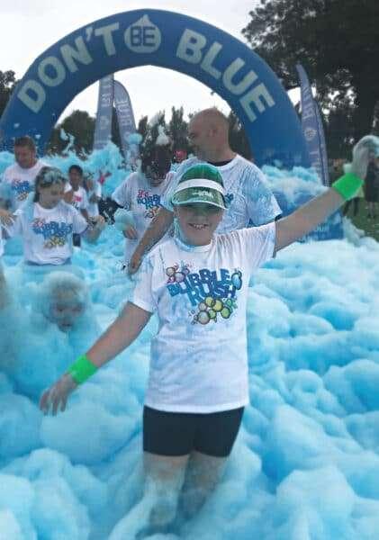 Acorns Children's Hospice Bubble Rush