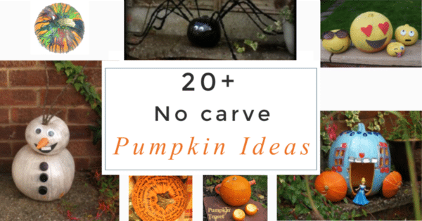 20+ No Carve Pumpkin Ideas