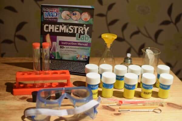 {AD – Gifted} Science Mad Chemistry Lab review and giveaway